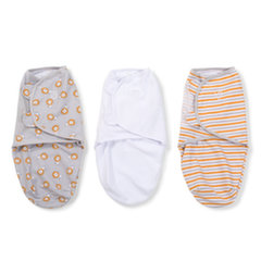 Vystyklas-kokonas Summer Infant Original Swaddle, 3 vnt., S dydis, Lions and Stripes