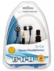 Esperanza EH128, Juoda/sidabrinė kaina ir informacija | Laisvų rankų įranga ir ausinės | pigu.lt