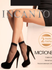 Kojinaitės moterims Incanto Micronet 2 vnt., rudos kaina ir informacija | Kojinaitės moterims Incanto Micronet 2 vnt., rudos | pigu.lt