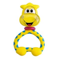 Barškutis - kramtukas Chicco Baby Senses žirafa