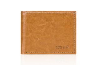 Vyriška piniginė Solier SW06 kaina ir informacija | Vyriškos piniginės, kortelių dėklai | pigu.lt