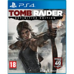 Tomb Raider Definitive Edition, PS4