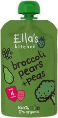 Ekologiška brokolių, kriaušių ir žirnių tyrelė Ella's Kitchen, 120 g