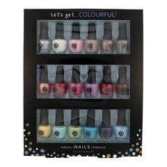 Nagų lakų rinkinys 2K Let´s Get Colourful: 18 x 3,5 ml
