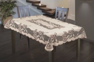 Staltiesė Kristupas, 120x160 cm kaina ir informacija | Staltiesės, virtuviniai rankšluosčiai | pigu.lt