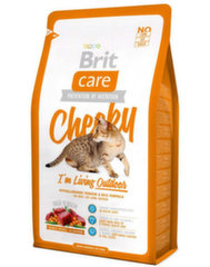 Sausas maistas katėms BRIT CARE CAT CHEEKY OUTDOOR, 2 kg
