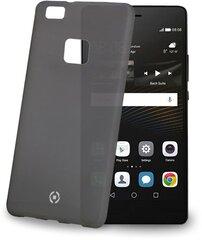 Prekė su pažeista pakuote. Apsauginis dėklas Celly Frost skirtas Huawei P9 Lite, Juodas