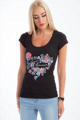 Marškinėliai moterims 6785 kaina ir informacija | Marškinėliai moterims | pigu.lt