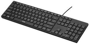Žemo profilio klaviatūra ACME KS07 Slim, Vokiečių