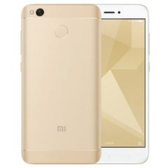 Xiaomi Redmi 4X Global, Dual SIM, 32GB, Auksinė
