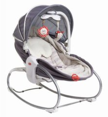 Gultukas-lopšys Tiny Love Napper 3in1, grey​