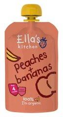 Ekologiška persikų ir bananų tyrelė Ella's Kitchen, 120 g