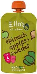 Ekologiška špinatų, obuolių ir griežčių tyrelė Ella's Kitchen, 120 g