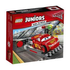 Konstruktorius LEGO® JUNIORS Žaibo Makvino greitasis startas 10730 kaina ir informacija | Konstruktoriai ir kaladėlės | pigu.lt