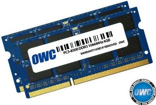 OWC SO-DIMM DDR3 2x8GB 1066MHz CL7 Apple Qualified (OWC8566DDR3S16P)