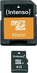 Atminties kortelė Intenso micro SD 4GB CL4