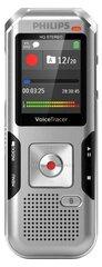 Philips DVT 4010, sidabrinė kaina ir informacija | Diktofonai | pigu.lt