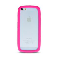Apsauginis rėmelis GreenGo Universal bumper XL (11,5 cm), rožinis kaina ir informacija | Telefono dėklai | pigu.lt