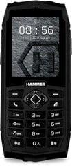 MyPhone Hammer 3, Dual SIM, Juoda