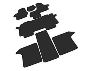 Kilimėliai ARS VOLKSWAGEN T5 MULTIVAN 2003-2015 (7v., I, II ir III e.) /MAX5 PureColor