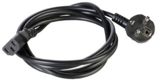 Maitinimo kabelis Modecom, 1,8 m, juodas kaina ir informacija | Įkrovikliai nešiojamiems kompiuteriams | pigu.lt