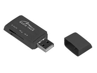 Kortelių skaitytuvas-atmintinėMedia-Tech MT5040 USB 2.0, juoda kaina ir informacija | Adapteriai, USB šakotuvai | pigu.lt