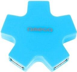 Omega USB šakotuvas, Mėlyna kaina ir informacija   Omega USB šakotuvas, Mėlyna   pigu.lt