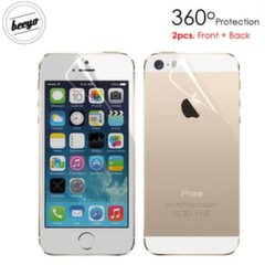 Beeyo Full Body Screen protector skirtas iPhone 5/5s Blizgus, Priukiui+Galui