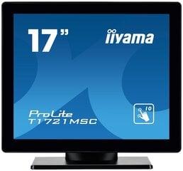 "iiyama T1721MSC-B1, 17"" kaina ir informacija | Monitoriai | pigu.lt"