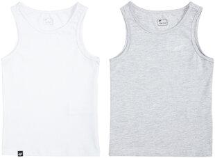 Apatiniai marškinėliai 4F, 2 vnt., JBID200/JBID100
