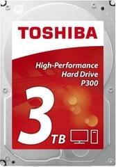 "Toshiba P300 3TB 7200RPM 3.5"" SATA (HDWD130UZSVA)"