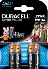 Батарея Duracell Turbo Star Wars AAA LR03, 4 шт.