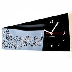 Sieninis laikrodis Drugelio pavasaris. Su ciferblatu