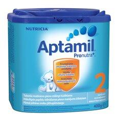 Pieno mišinys Aptamil 2 Pronutra, 6 mėn+, 400 g