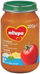 Pomidorų, makaronų ir Mozarella sūrio tyrelė Milupa, 8 mėn+, 200 g