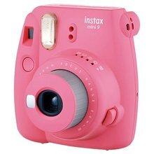 Fujifilm Instax Mini 9 (Flamingo Pink) + FUJIFILM Instax Mini Film (Glossy) (Color) 10