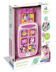 Žaislinis telefonas Clementoni Minnie Mouse, 14950 kaina ir informacija | Žaislai kūdikiams | pigu.lt
