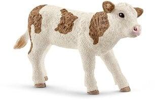 Figūrėlė Simentalių veislės veršiukas Schleich kaina ir informacija | Žaislai berniukams | pigu.lt