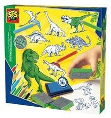 SES Antspaudukų rinkinys - dinozaurai