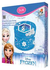 Papuošalų dėžutė iš veltinio Ledo šalis (Frozen) D&M