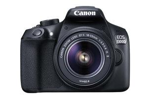Canon EOS 1300D + 18-55 IS II objektyvas + LP-E10 baterija