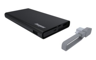 Energizer UE10004 Power Bank 10000mAh, Juodas