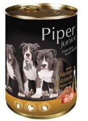 Piper šuniukams su vištų skrandukais ir rudaisiais ryžiais, 400 g