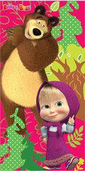 Vaikiškas rankšluostis Maša ir Lokys kaina ir informacija | Rankšluosčiai | pigu.lt