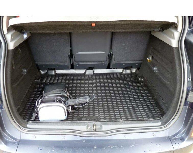 Guminis bagažinės kilimėlis RENAULT Scenic 2003-2009 black /N32018