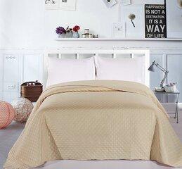Dvipusė lovatiesė Adam Light Beige Cappuccino, 260x280 cm kaina ir informacija | Lovatiesės ir pledai | pigu.lt