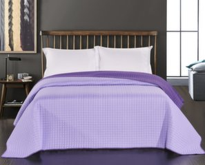 Dvipusė lovatiesė Paul Violet Lilac, 220x240 cm