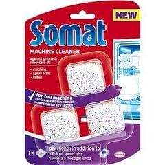 """Indaplovių priežiūros priemonė """"SOMAT Machine Cleaner"""" 3 vnt"""
