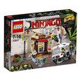 Konstruktorius LEGO® Ninjago gaudynės mieste 70607 kaina ir informacija | Filmukų herojai, figūrėlės | pigu.lt
