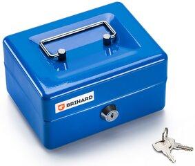 Metalinė dėžutė pinigams BRIHARD BR001 kaina ir informacija | Seifai | pigu.lt